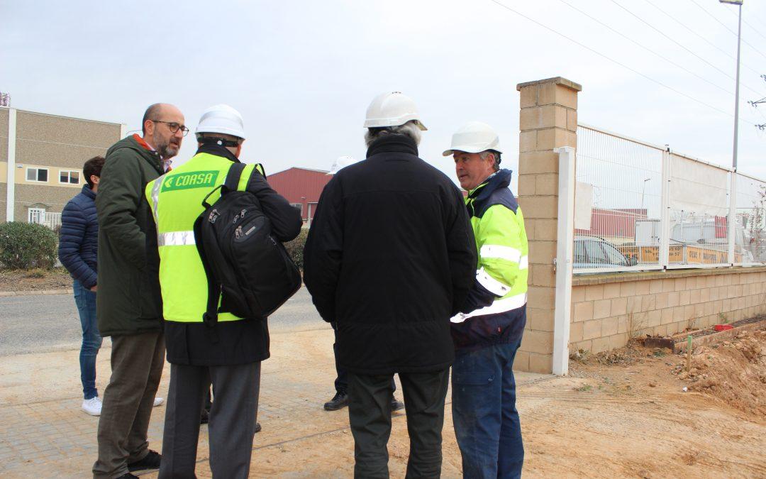 El Col·legi d'Aparelladors, Arquitectes Tècnics i Enginyers d'Edificació de Tarragona construeix la nova seu de l'empresa CorreoExpress al Polígon de Constantí