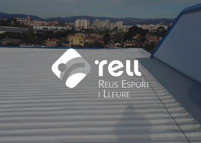 Impermeabilització de la coberta d'un pavelló
