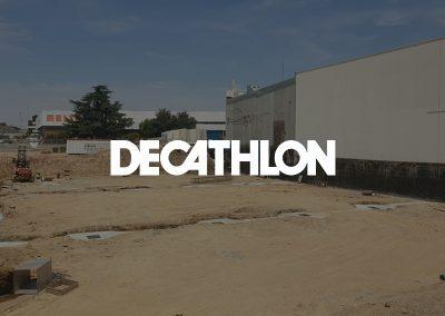Obres d'ampliació – Decathlon Lleida