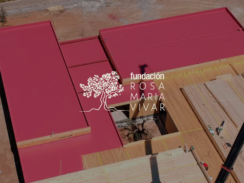 Construcción del centro de Alzheimer Rosa María Vivar