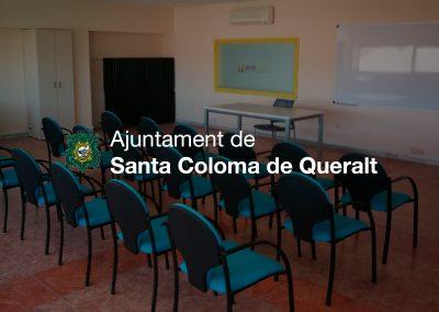 Adequació i construcció d'espais – Viver d'empreses Ajuntament St. Coloma de Queralt
